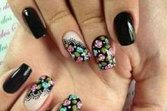 Uñas con flores 4